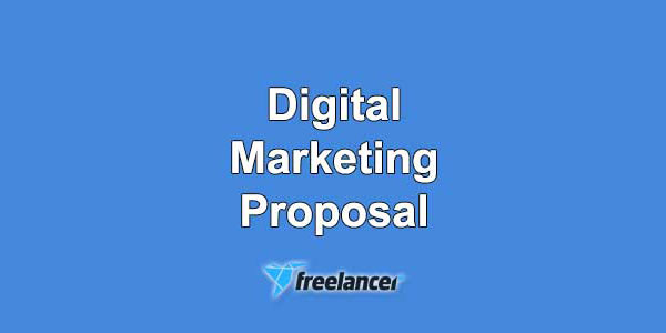 Freelancer Proposal Sample for Digital Marketer