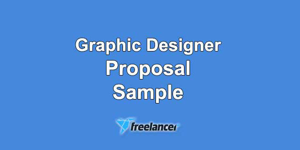 Graphic Designer Proposal Sample for Freelancer