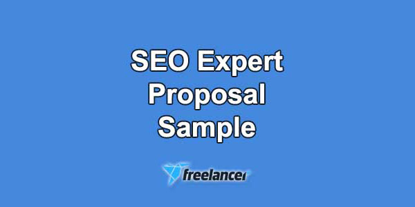 Freelancer Proposal Sample for SEO Expert