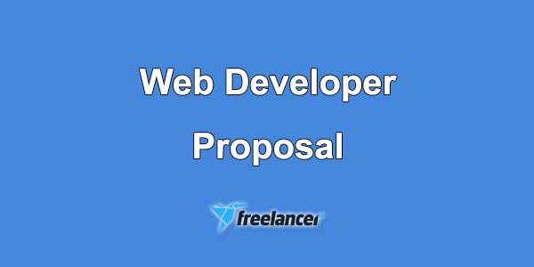 Web Developer Proposal Samples for Freelancer